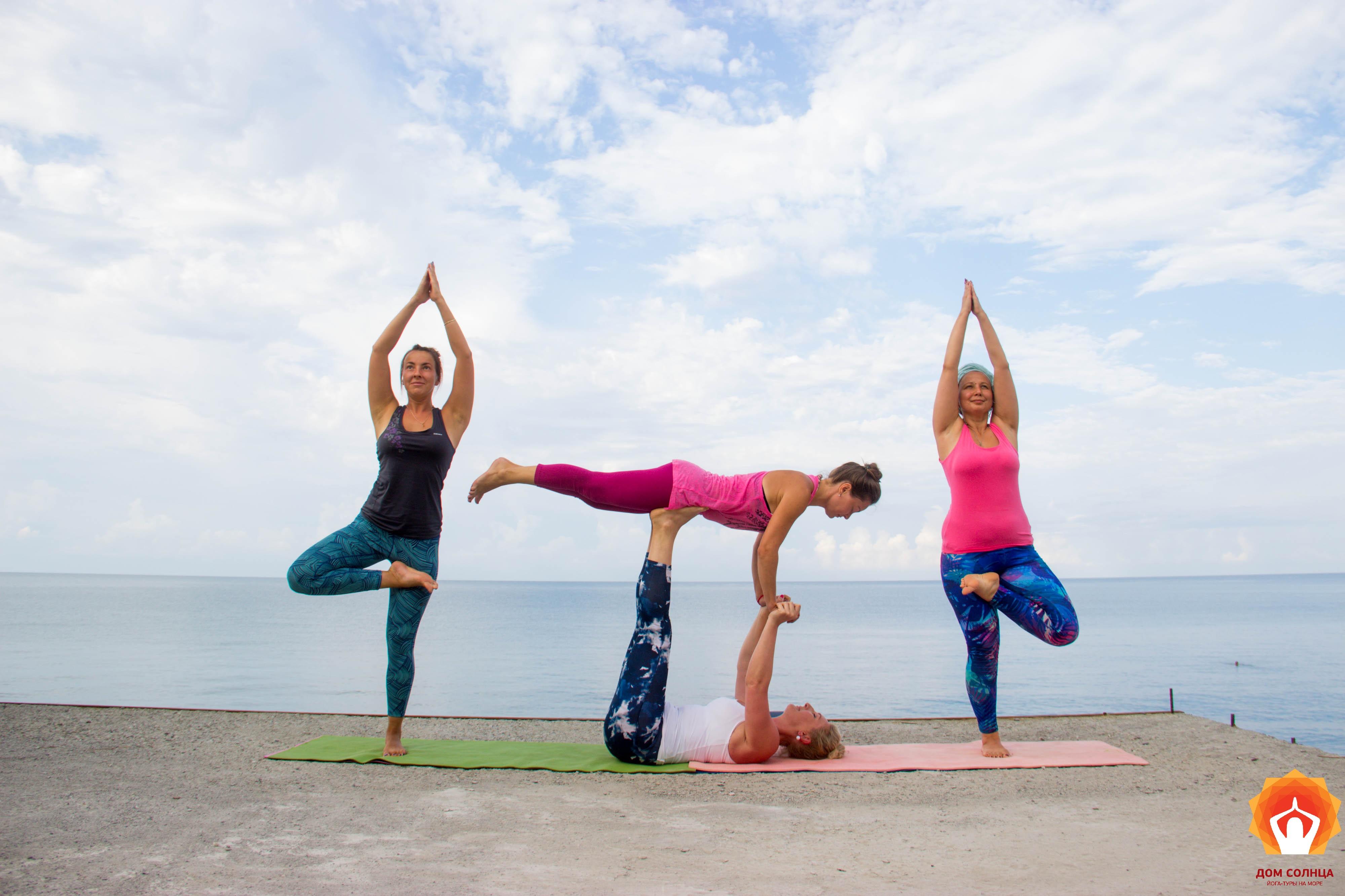 Йога для похудения женщины